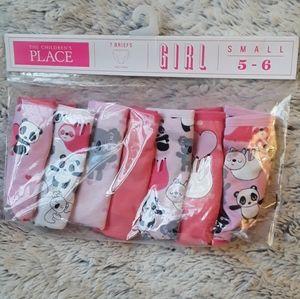 7 Piece Animal Toddler Girl Panties 5T-6T